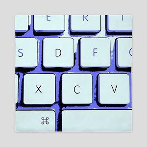 Computer Keyboard Queen Duvet