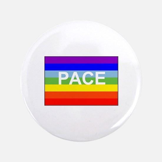 Rainbow Peace Flag Button