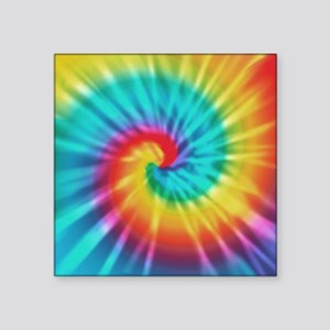 Rainbow Tye Dye Sticker