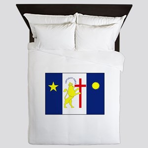 Recife, Brazil Flag Queen Duvet