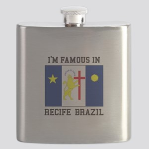 I'm Famous in Recife, Brazil Flask