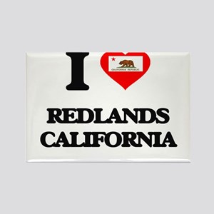 I love Redlands California Magnets