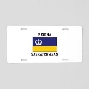 Regina, Saskatchewan Aluminum License Plate
