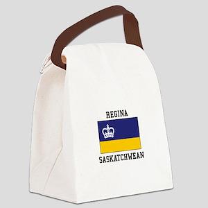 Regina, Saskatchewan Canvas Lunch Bag