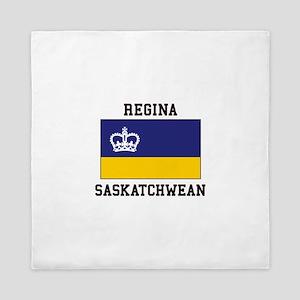 Regina, Saskatchewan Queen Duvet