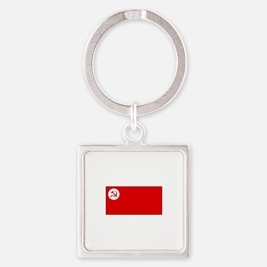 Revolutionary Socialist Party Flag Keychains