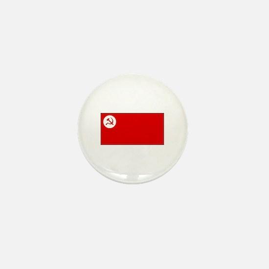 Revolutionary Socialist Party Flag Mini Button