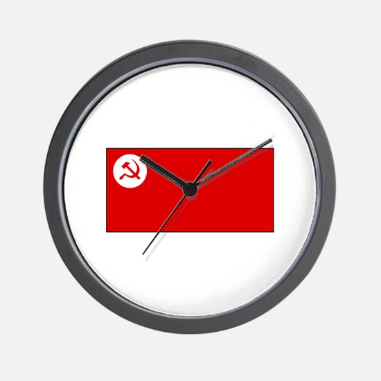 Revolutionary Socialist Party Flag Wall Clock