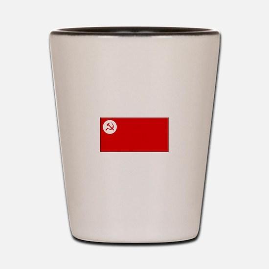 Revolutionary Socialist Party Flag Shot Glass