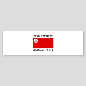 Revolutionary Socialist Party Bumper Sticker