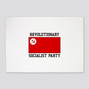 Revolutionary Socialist Party 5'x7'Area Rug
