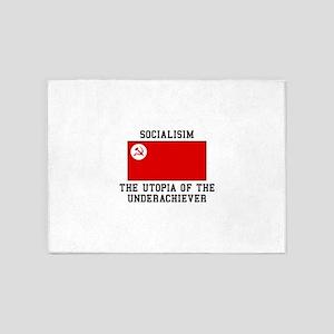 Socialisim, The Utopia of the Underachiever 5'x7'A