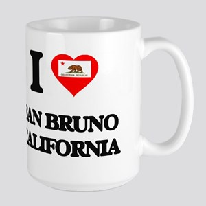 I love San Bruno California Mugs