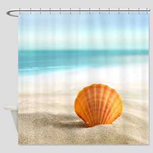 Summer Sand Shower Curtain