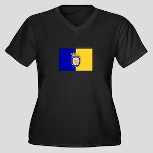 Santiago, Chile Flag Plus Size T-Shirt