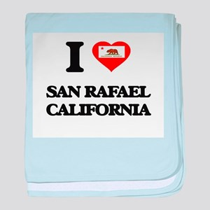 I love San Rafael California baby blanket