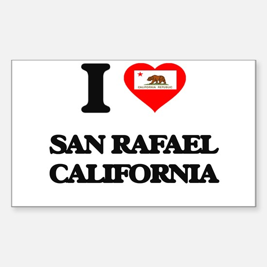 I love San Rafael California Decal