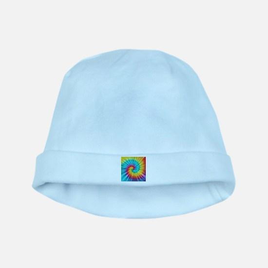 Rainbow Tye Dye Baby Hat