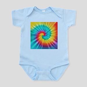 Rainbow Tye Dye Body Suit
