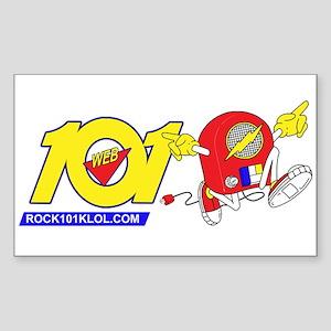 101 Runaway Radio H Sticker