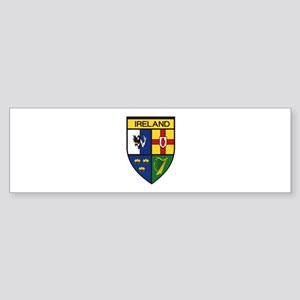 Irish Shield Bumper Sticker