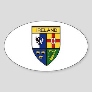 Irish Shield Sticker