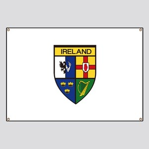 Irish Shield Banner