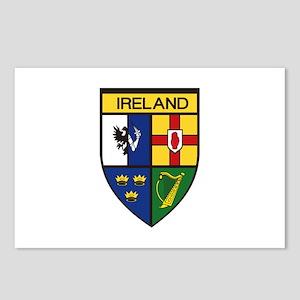 Irish Shield Postcards (Package of 8)