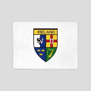 Irish Shield 5'x7'Area Rug