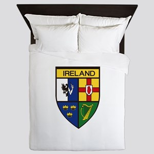 Irish Shield Queen Duvet