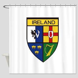 Irish Shield Shower Curtain