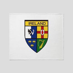Irish Shield Throw Blanket