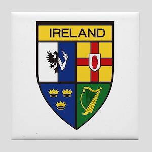 Irish Shield Tile Coaster