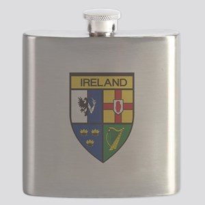 Irish Shield Flask