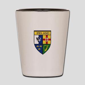 Irish Shield Shot Glass