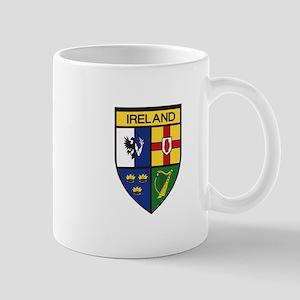 Irish Shield Mugs