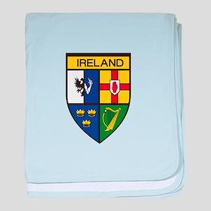 Irish Shield baby blanket