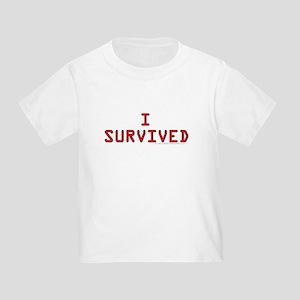 I SURVIVED Toddler T-Shirt