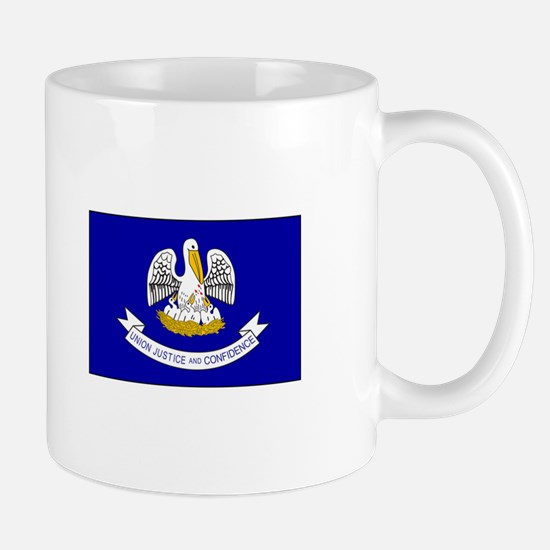 Louisiana Flag Mugs