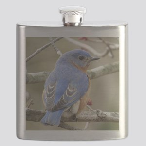 Backside Bluebird Flask