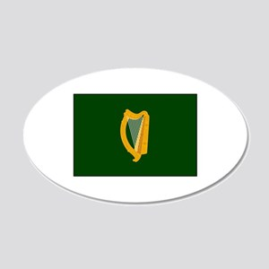 Irish Flag Wall Decal