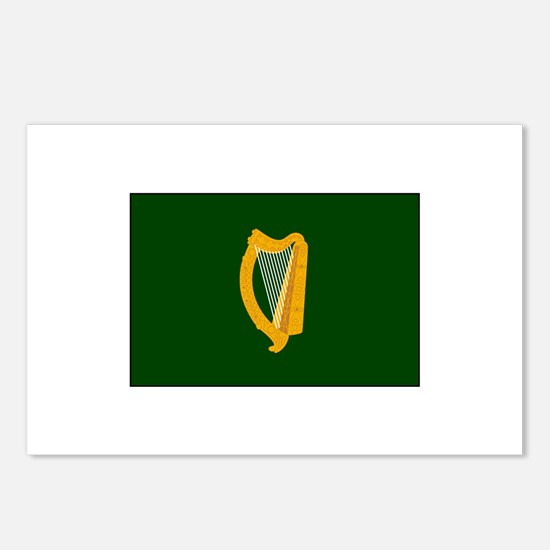 Irish Flag Postcards (Package of 8)