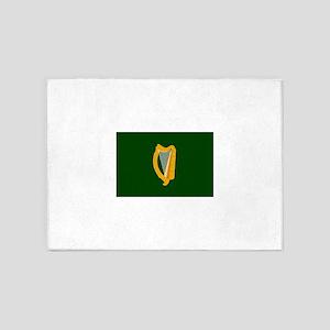 Irish Flag 5'x7'Area Rug