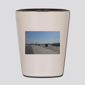 Atlantic City Boardwalk and Dunes Shot Glass
