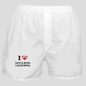 I love Santa Rosa California Boxer Shorts