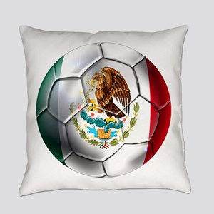Mexican Soccer Ball Everyday Pillow