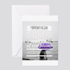FM a multitude of symptoms Greeting Cards