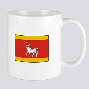 Kaunas, Lithuania Flag Mugs