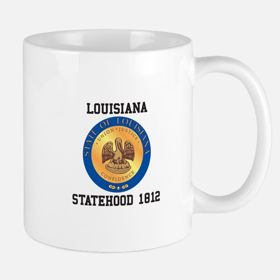 Louisiana Statehood 1812 Mugs