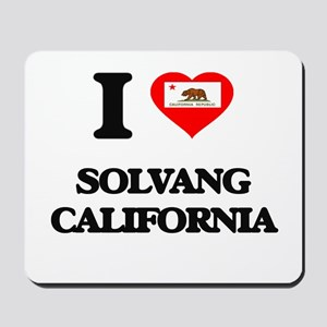 I love Solvang California Mousepad